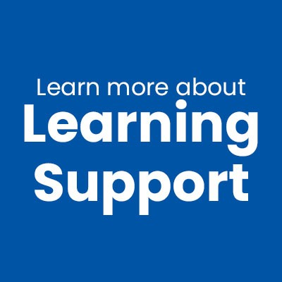 Learning Support Coming Soon